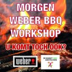 BBQ-workshops op de Markt van Amstelveen!
