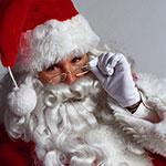 Zingende kerstman