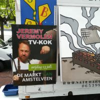 Vrijdag 13 juni op de markt: TV-kok Jeremy Vermolen