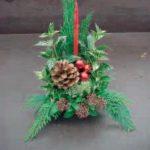 Kerststuk maken op vrijdag 13 december