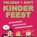 Vrijdag 1 september: Kinderfeest
