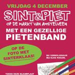 Sint & Piet op de Markt van Amstelveen